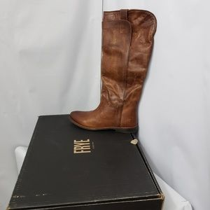 Frye Paige Tall Riding Boots Leather